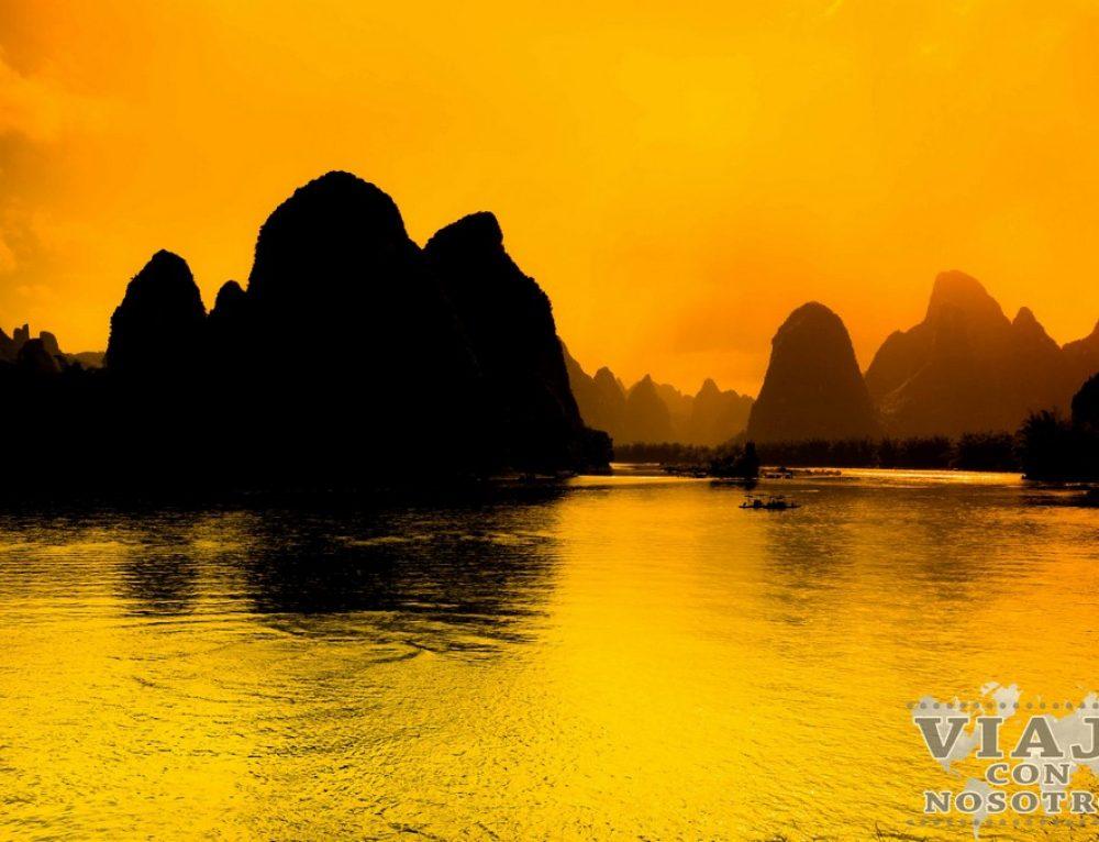 Guilin: Barco por el Río Li , Xingping