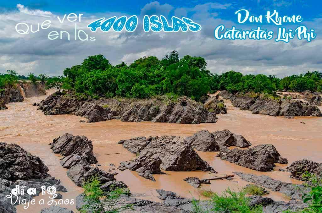 Las 4000 islas de Laos