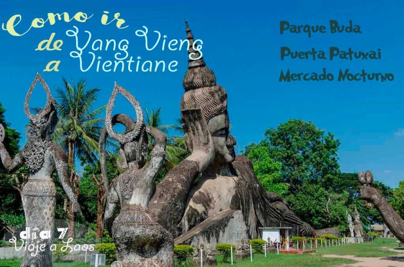 Como ir de Vang Vieng a Vientiane en transporte público.
