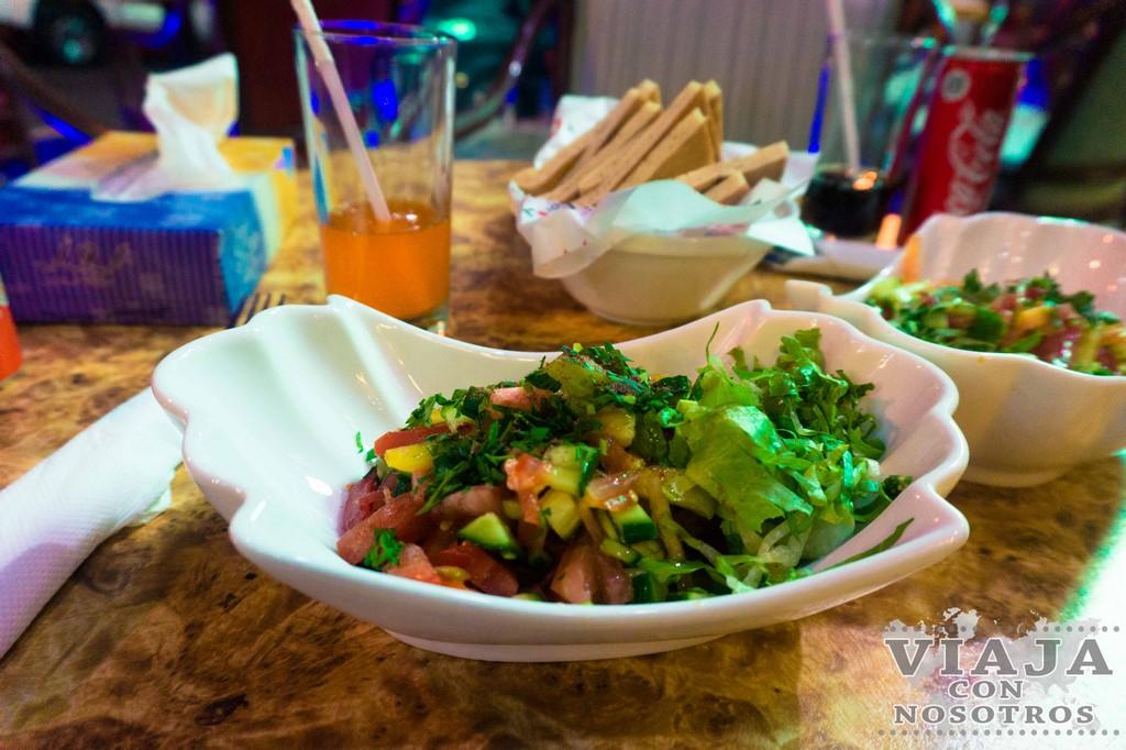 Donde cenar en Wadi Musa