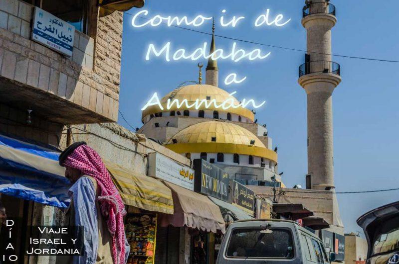 Como ir de Madaba a Amman por tu cuenta