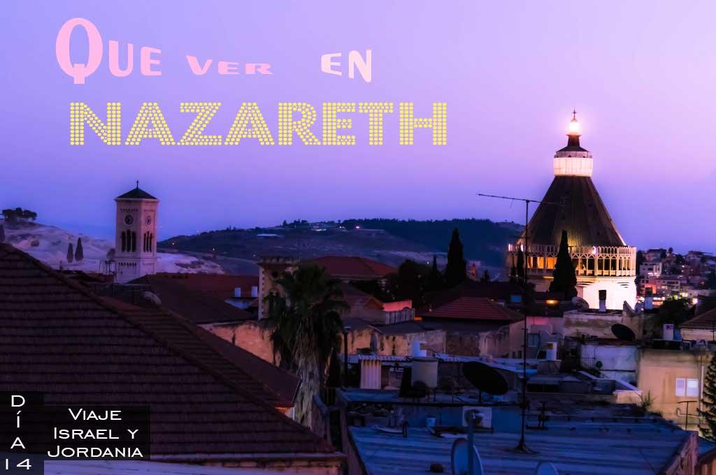 Que ver y que hacer en Nazareth