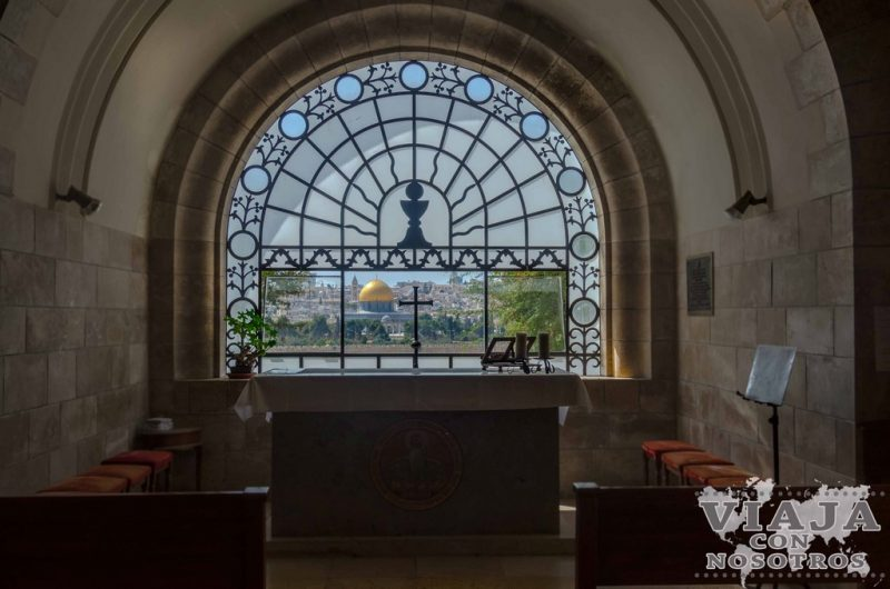 Iglesia Flevit del Monte de los Olivos