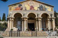 Iglesia Getsemani en Jerusalen