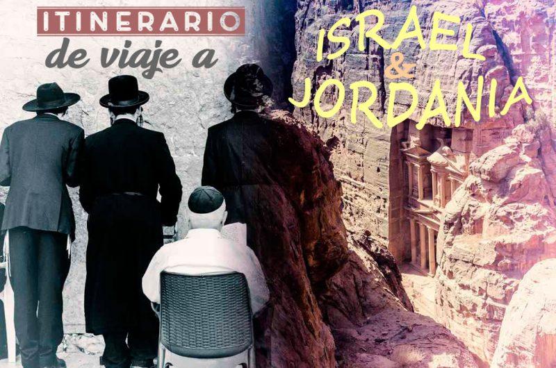 Itinerario de Israel y Jordania por libre