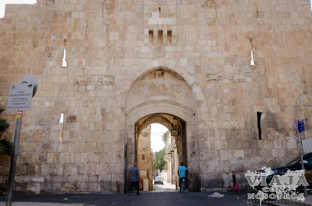 Puerta de los Leones de Jerusalen