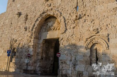 Puerta Sion Jerusalen