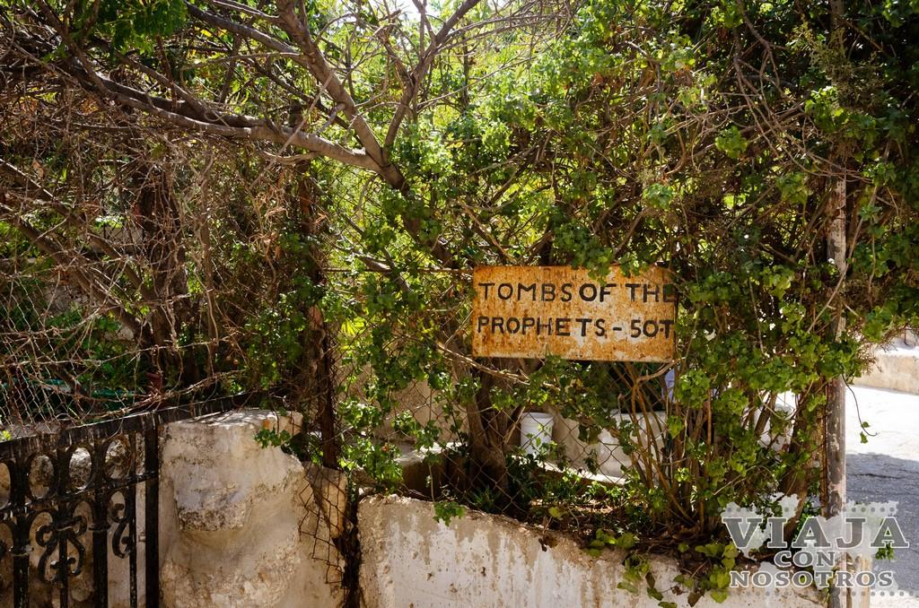 Tumba de los Profetas del Monte de los Olivos