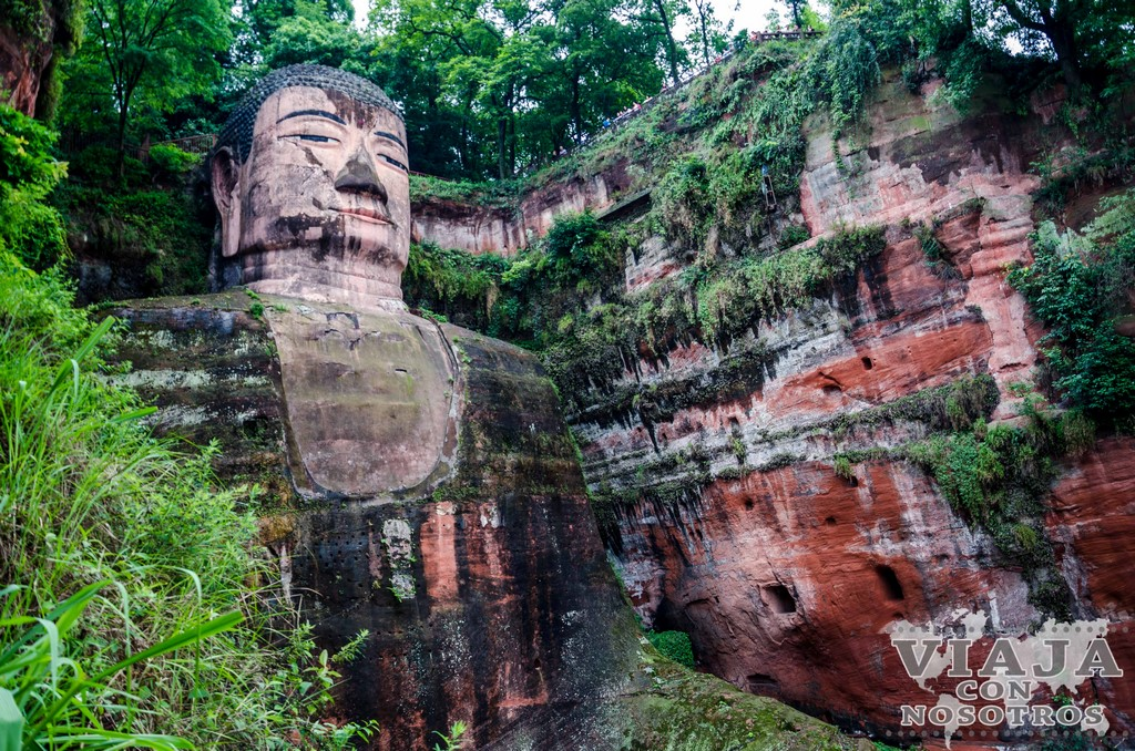 Llegar al Gran Buda de Leshan en transporte público