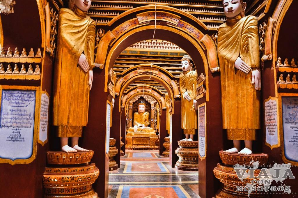 El Templo de Thambuddhe (Sambuddhe) de Monywa