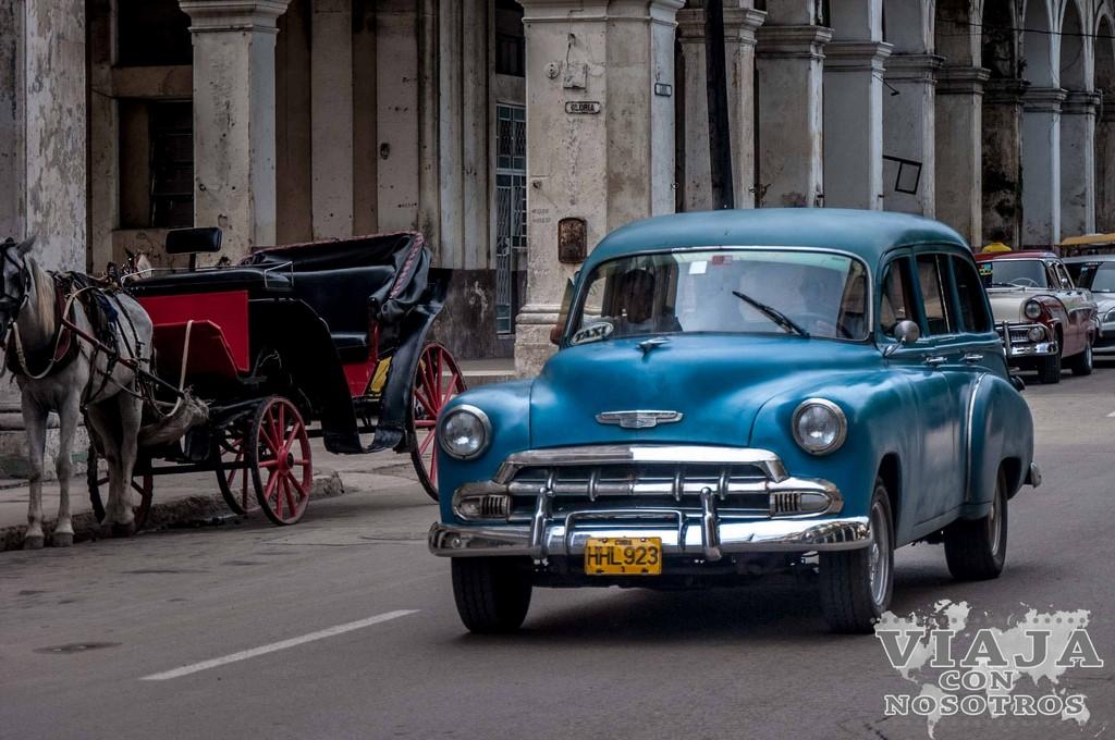Coches antiguos La Habana