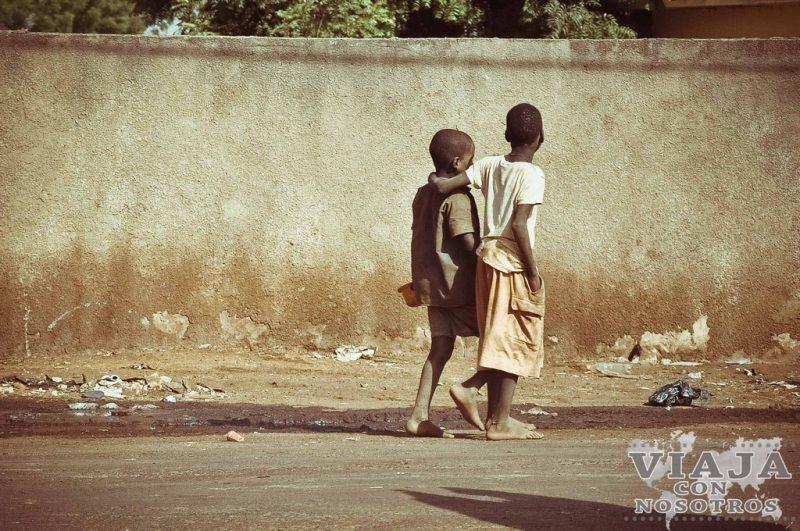Itinerario de un viaje a Senegal