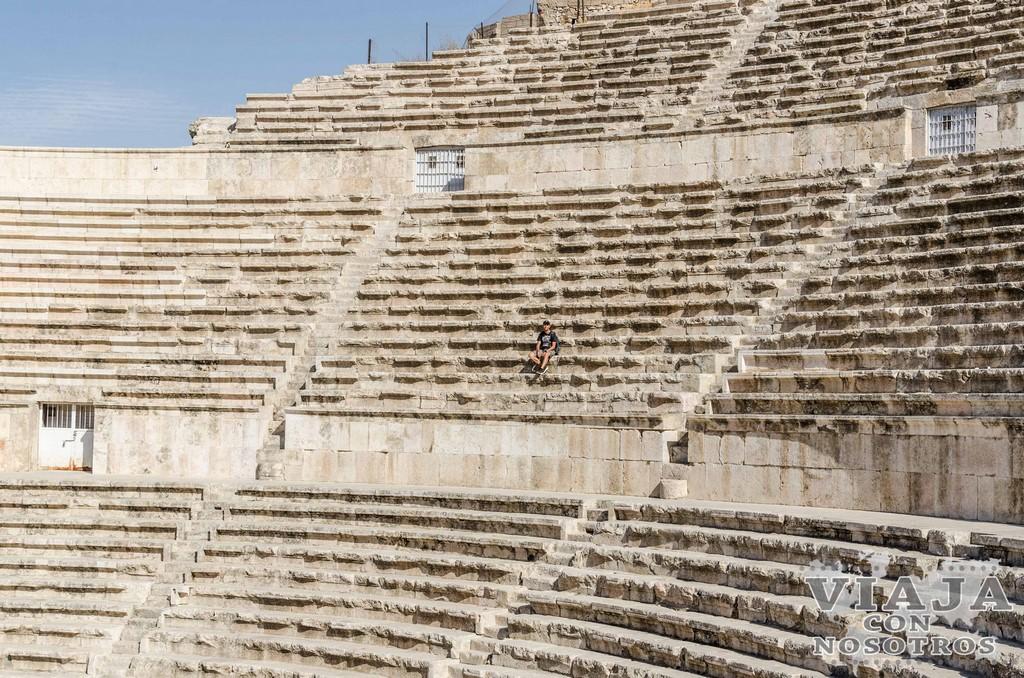 horario teatro romano Amman