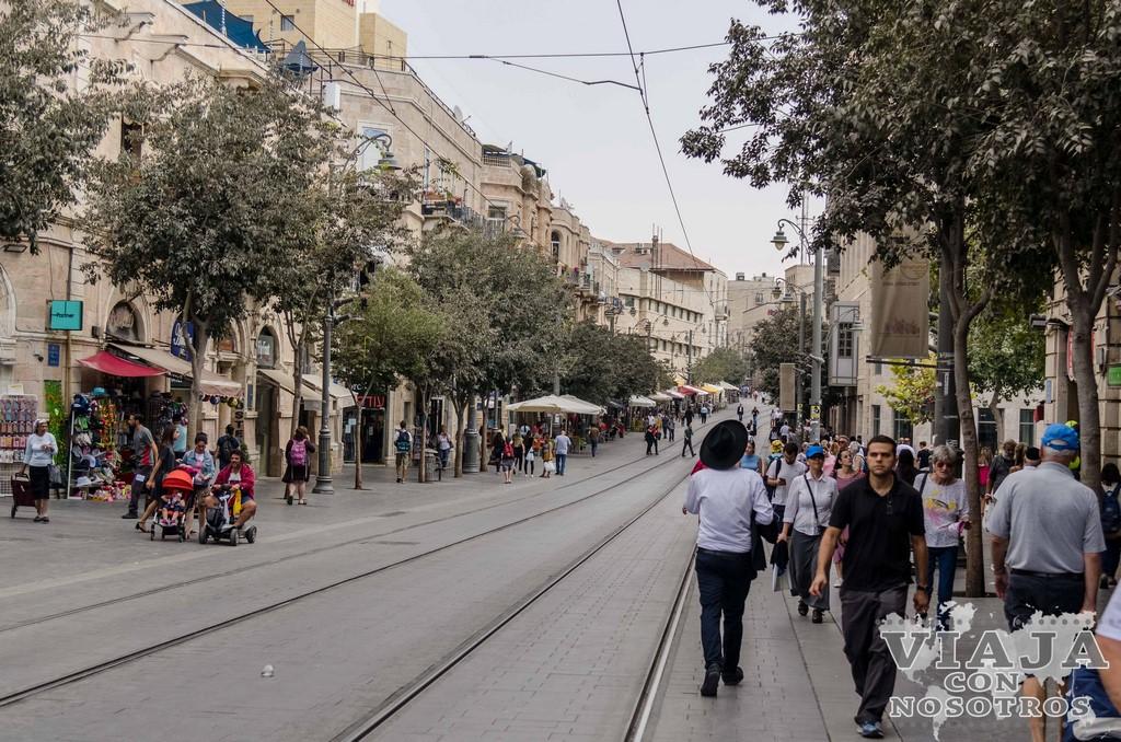 Calle Jaffa Jerusalen