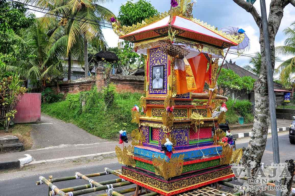 Ruta para viajar a Bali