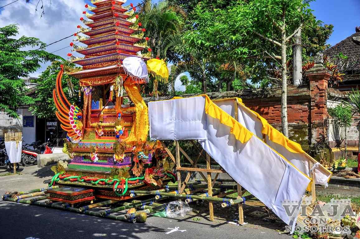 Itinerario de un viaje a Bali