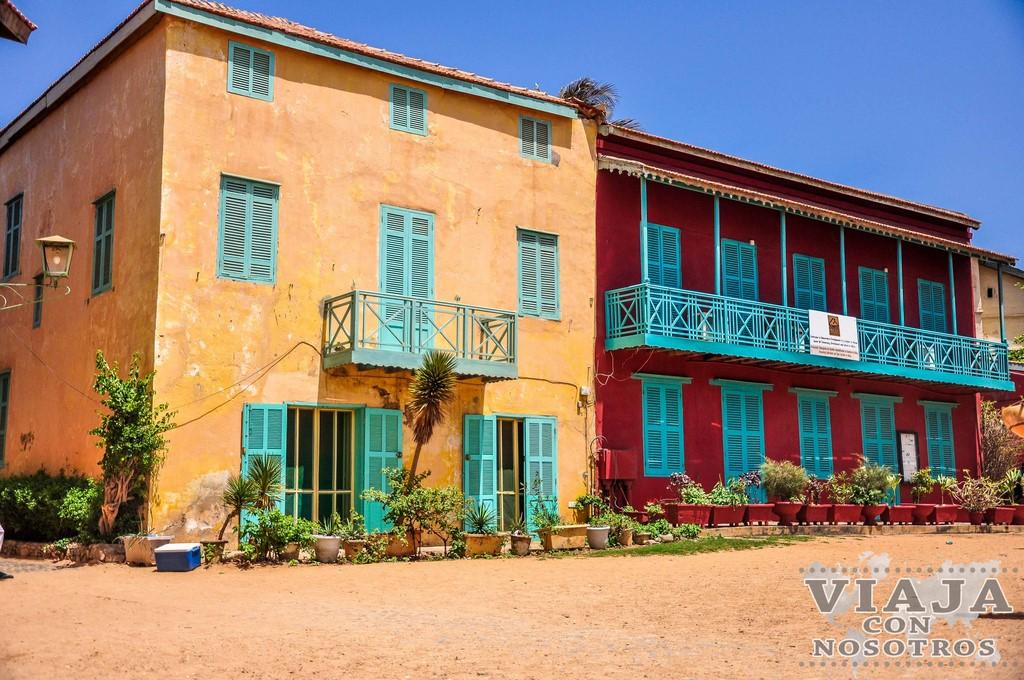 La Casa de los Esclavos de la Isla de Goree