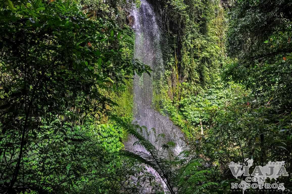 Como llegar a la Cascada de Nungnung de Bali