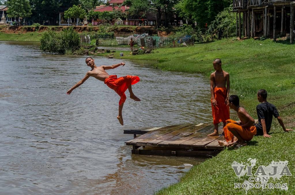waterfall Tad Pha Souam