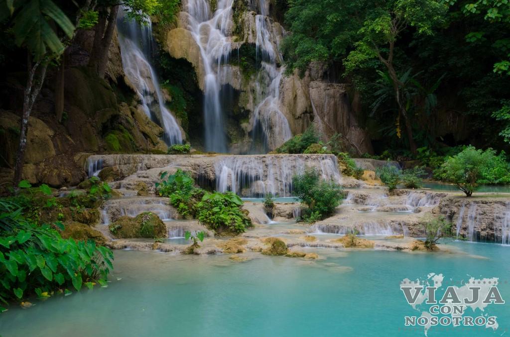 como visitar waterfall kuang si