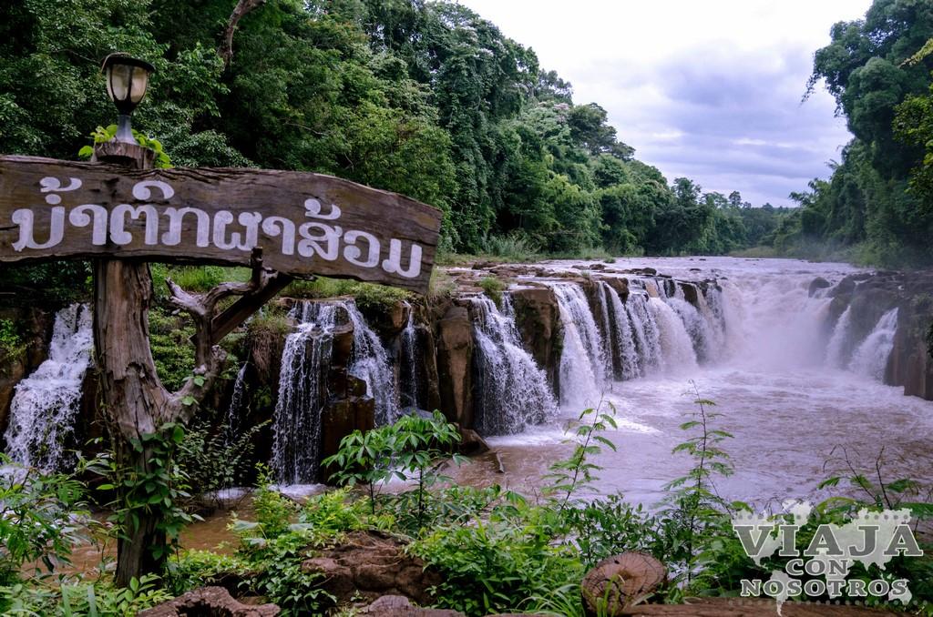 cascadas de tad pha souam laos