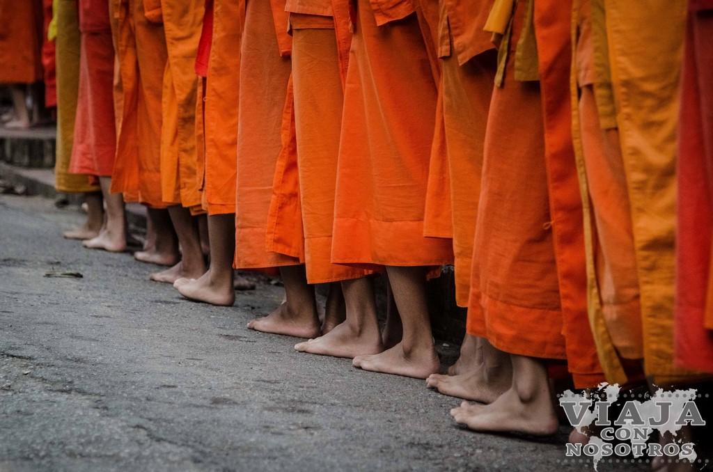 guia para ver la ceremonia de los monjes luang prabang
