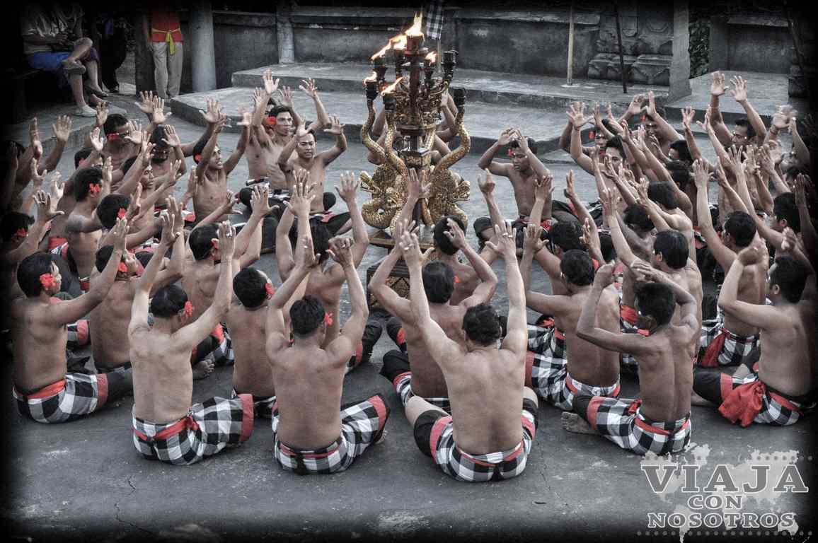 Danza Kechak de Bali