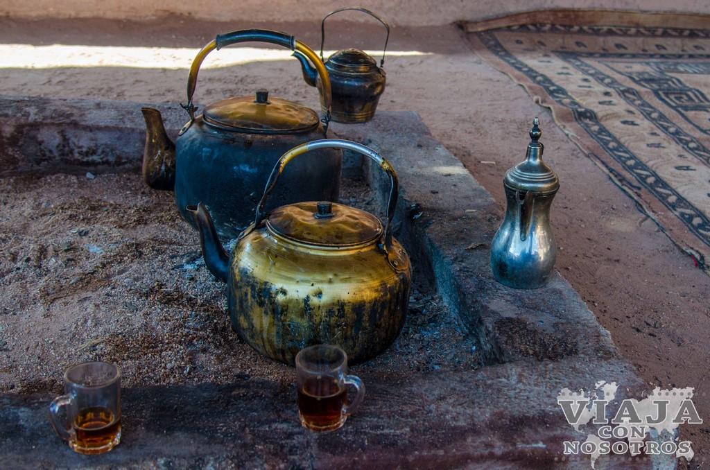 Donde hospedarse en el desierto de Wadi Rum