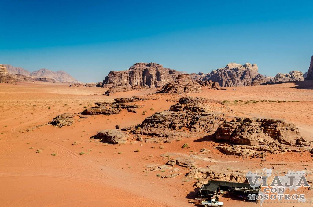 Consejos y recomendaciones para visitar el desierto de Wadi Rum