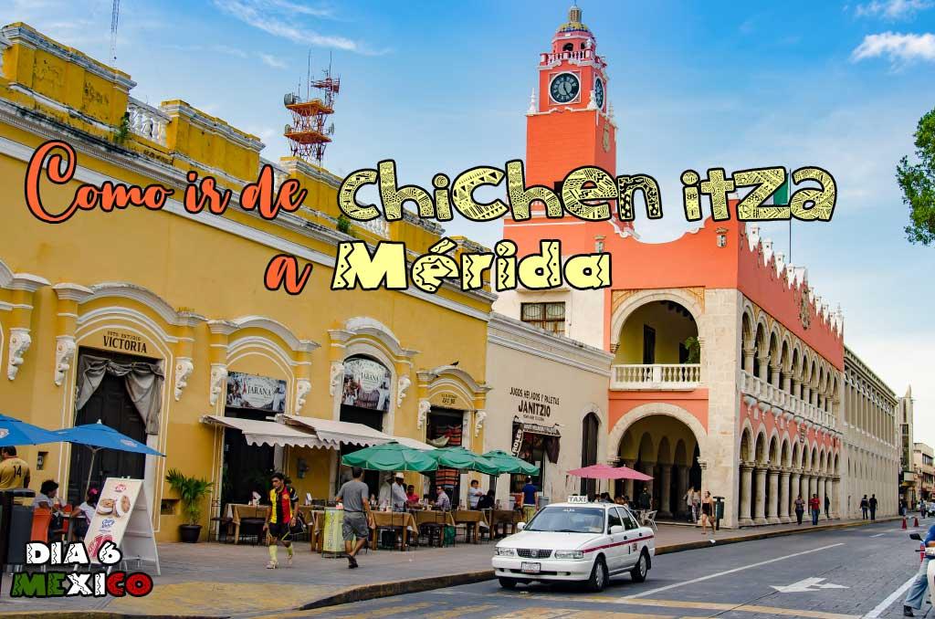 Como ir de Chichen Itza a Mérida en transporte público.