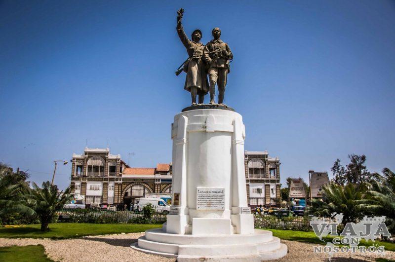 Estatua de los caídos Senegaleses