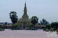 estupa dorada pha that luang viantiane