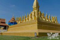 stupa golden pha that luang viantiane