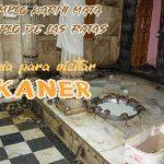 Bikaner, entrada en el desierto de Thar