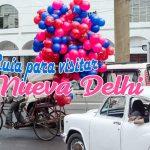 Nueva Delhi: entrada a la India
