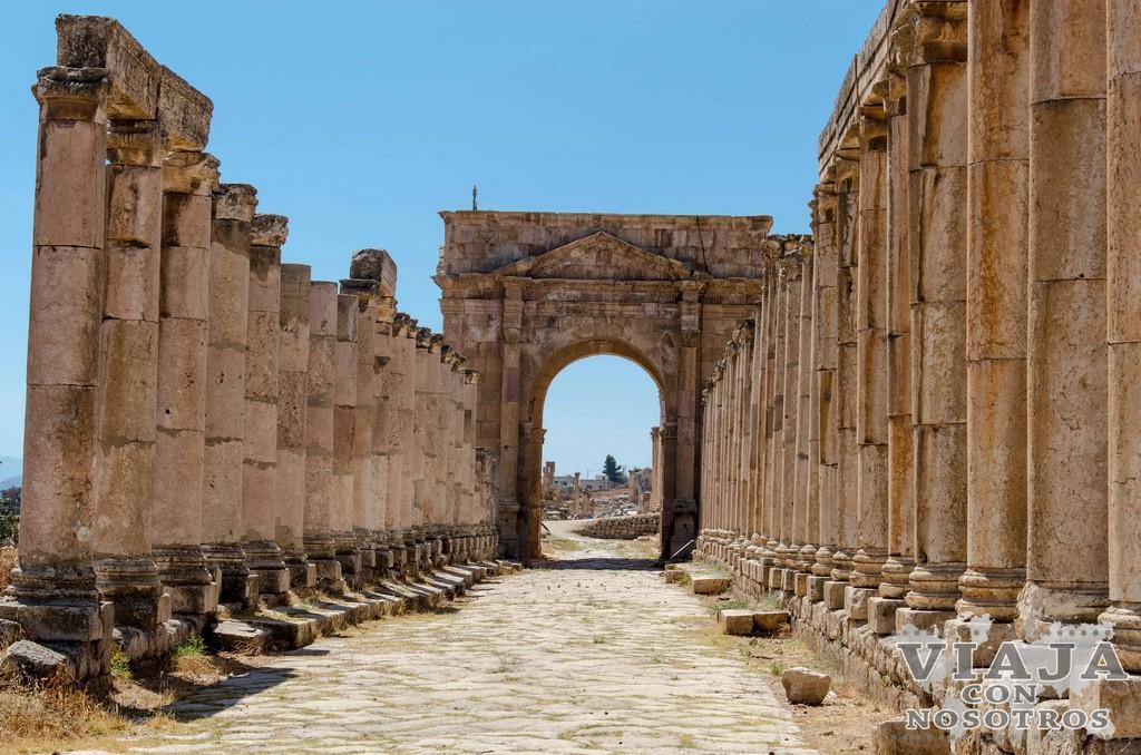 Como llegar a Jerash
