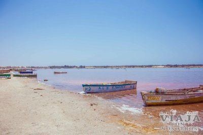 Como llegar al lago Rosa de Senegal