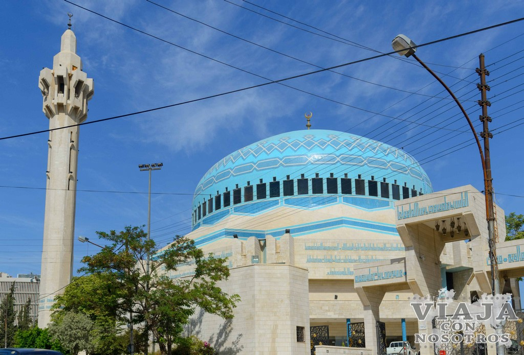 Visita a la Mezquita King Bdullah Amman