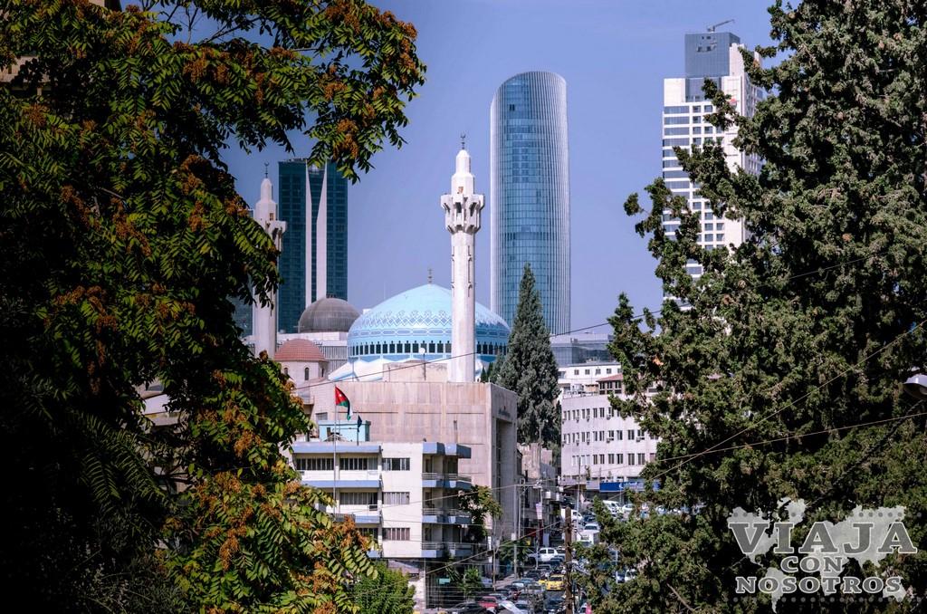 Como llegar a la mezquita King Bdullah en Amman