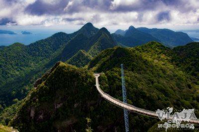 Puente de Langkawi Malasia