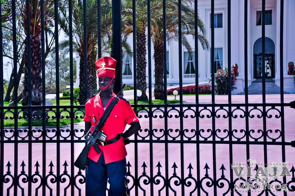 Palacio Presidencial de Dakar