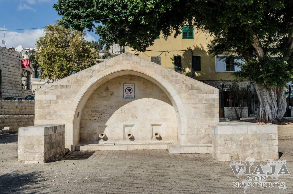 Pozo de Maria en Nazareth