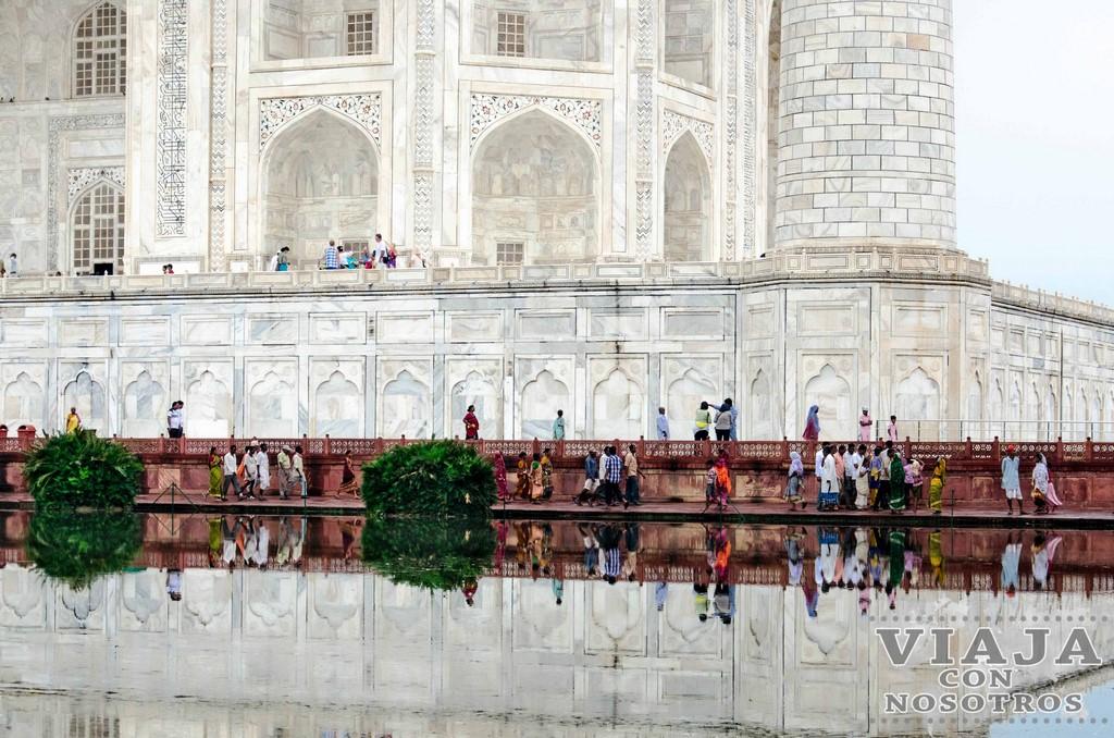 Cosnejos para visitar el Taj Mahal