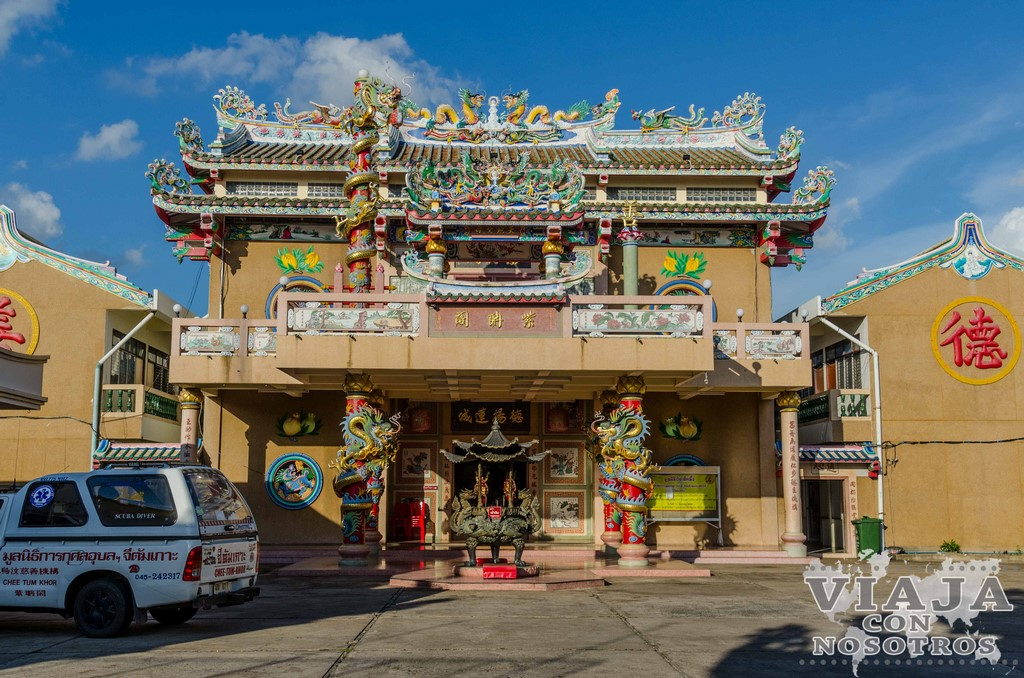 templo chino en ubon ratchathani