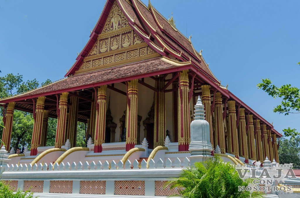 templo haw pha kaeo vientiane