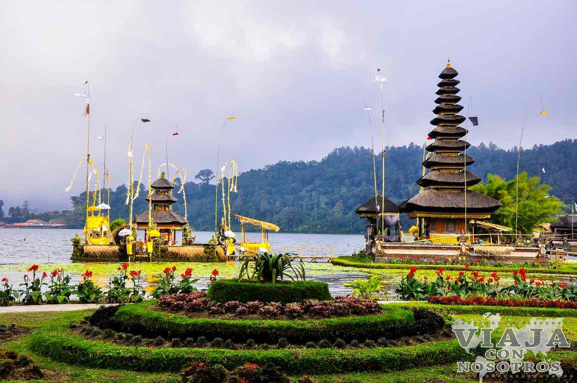 Como visitar el Templo Ulun Danu Batur