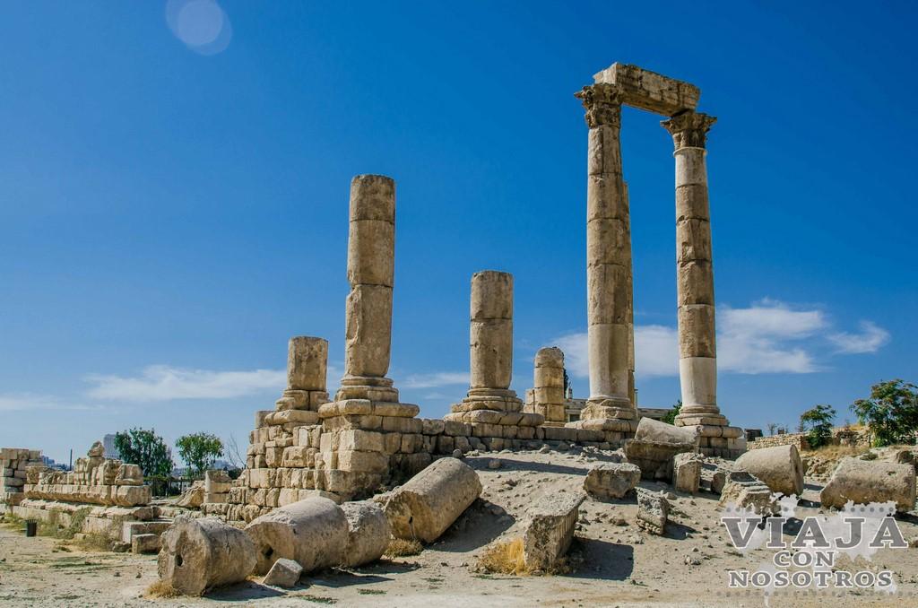 Torre de hercules de la ciudatela de Amman
