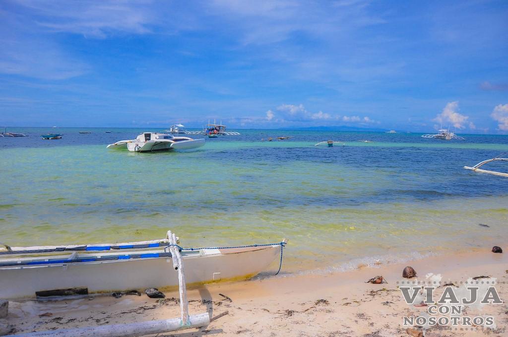 Las mejores playas de Bohol