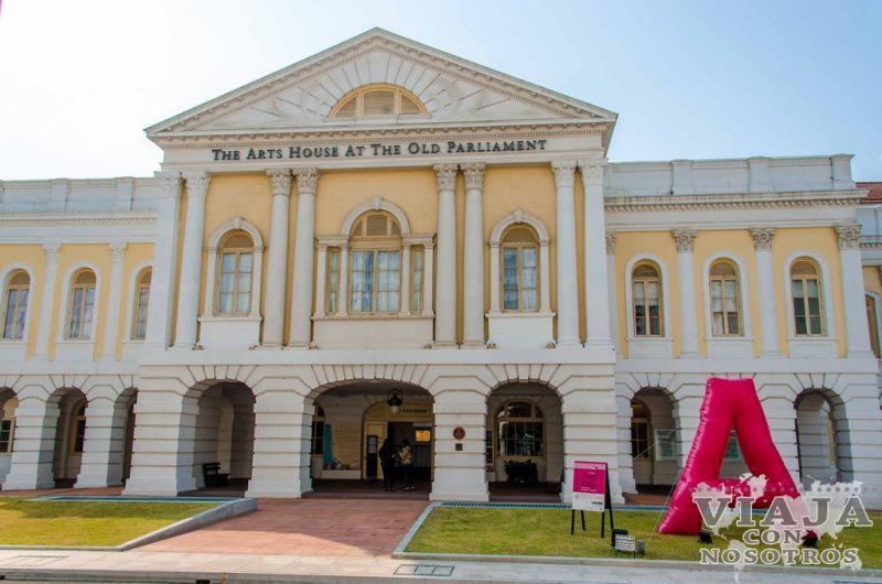 Antigua Casa Parlamento de Singapur
