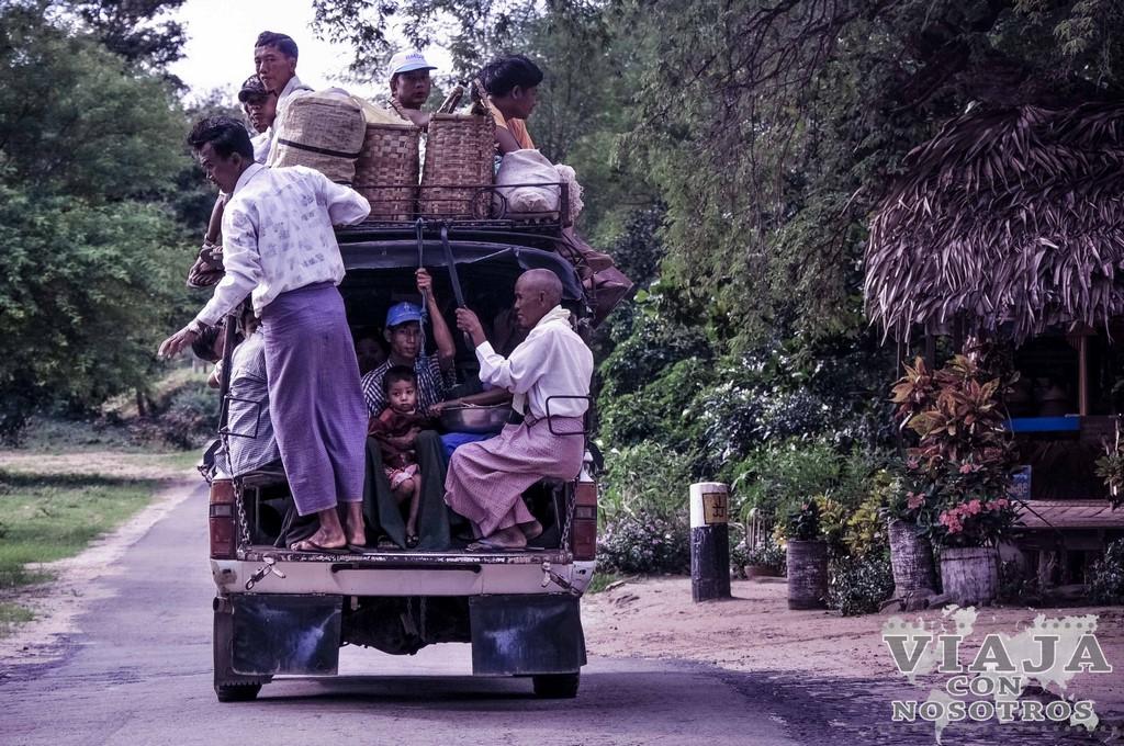 Cuanto se tarda de Bagan a Yangon